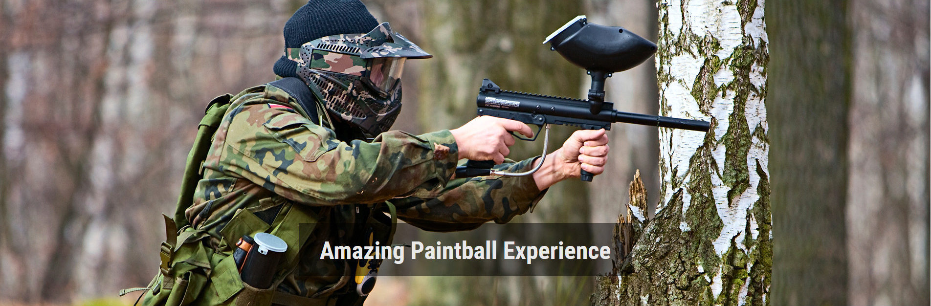 Survival Tactics Paintball in toronto